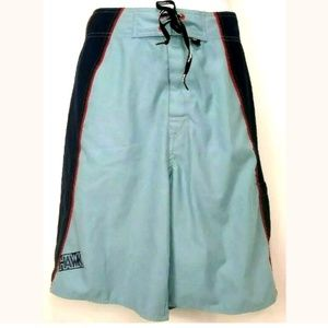 e686122fd7 Tony Hawk Swim Shorts / Trunks Size 36 LT Blue DK